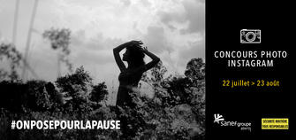 "Concours photo ""#OnPosePourLaPause"""