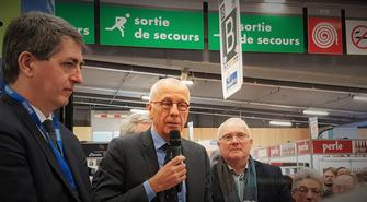 Inauguration du stand Grand Est au Salon International de l'Agriculture