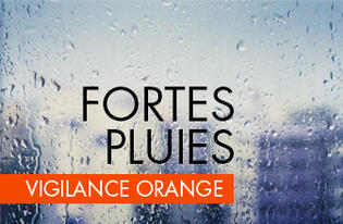 Vigilance ORANGE orages, vent violent et fortes pluies