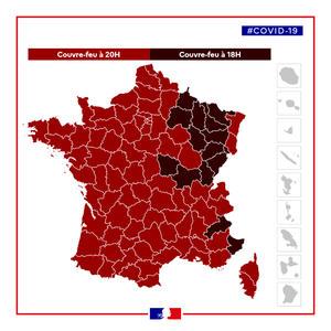 Couvre Feu Avance A 18h A Partir Du Samedi 02 Janvier 2021 Actualites Accueil Les Services De L Etat En Moselle